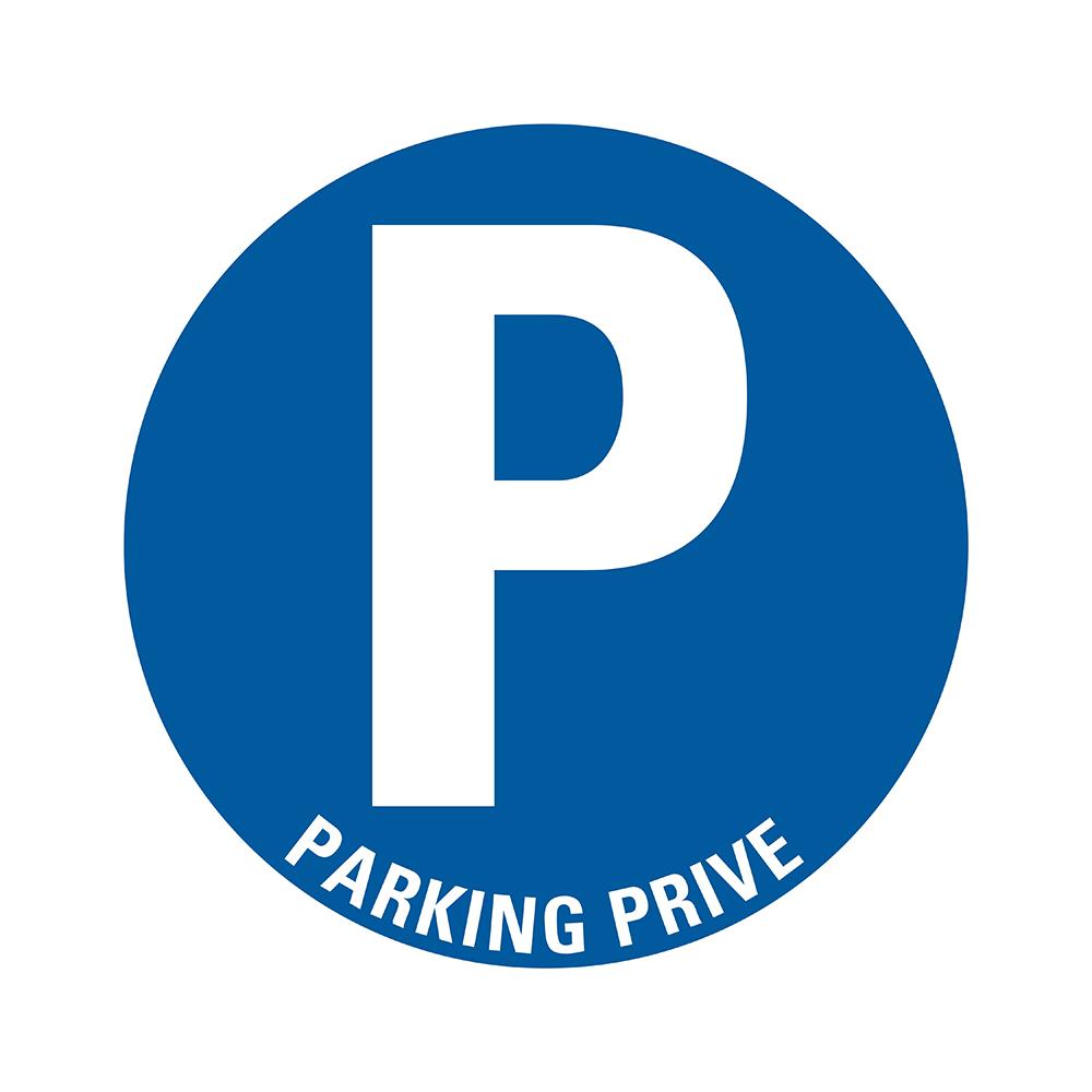 Bord rond 300 mm - Parking privé