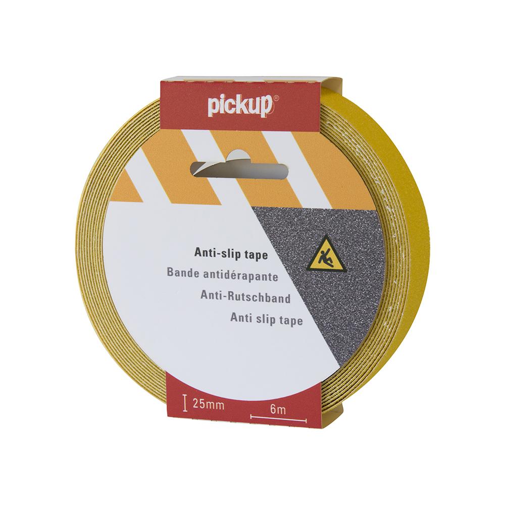 Antislip tape geel - 6 mtr x 2,5 cm