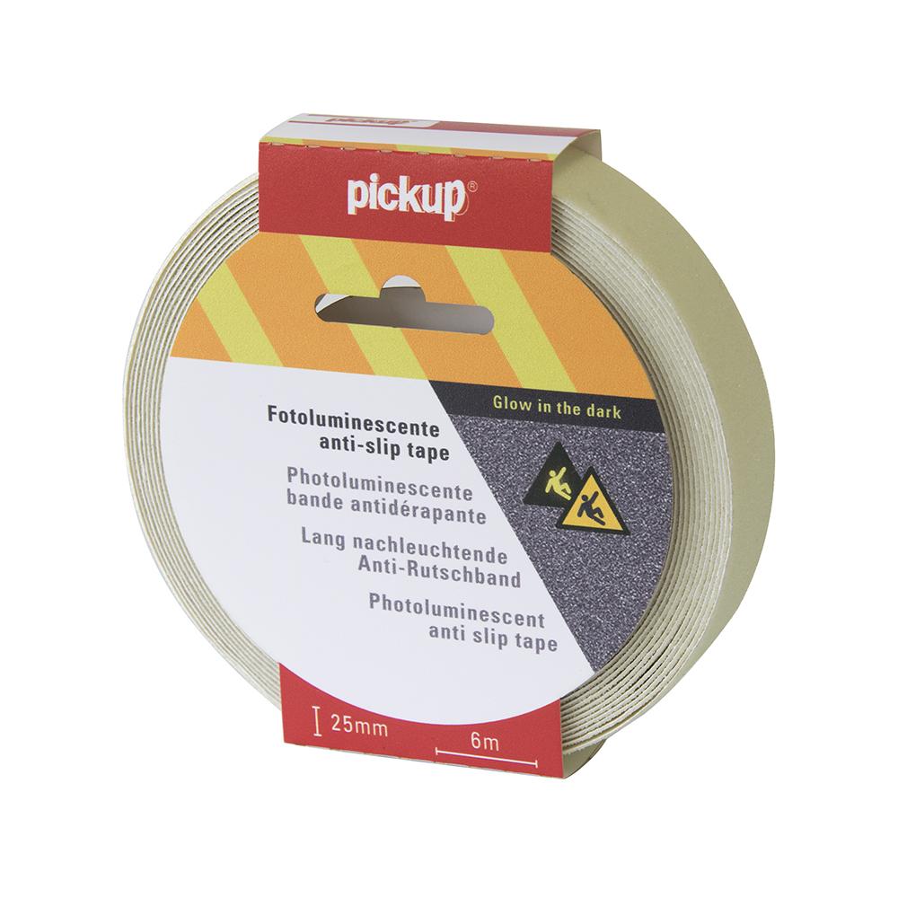 Antislip tape fotoluminiscent - 6 mtr x 2,5 cm