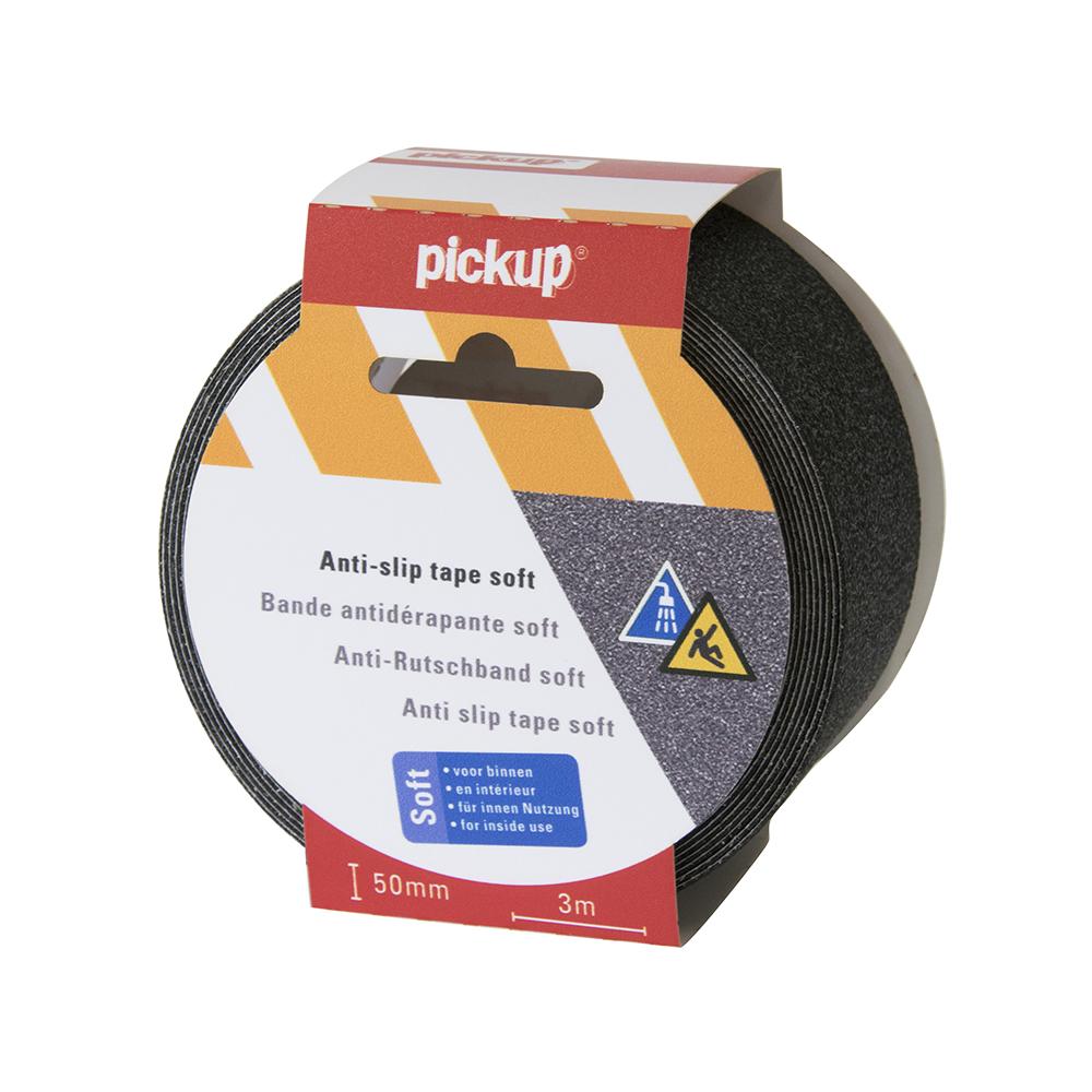 Antislip tape Soft zwart - 3 mtr x 5 cm