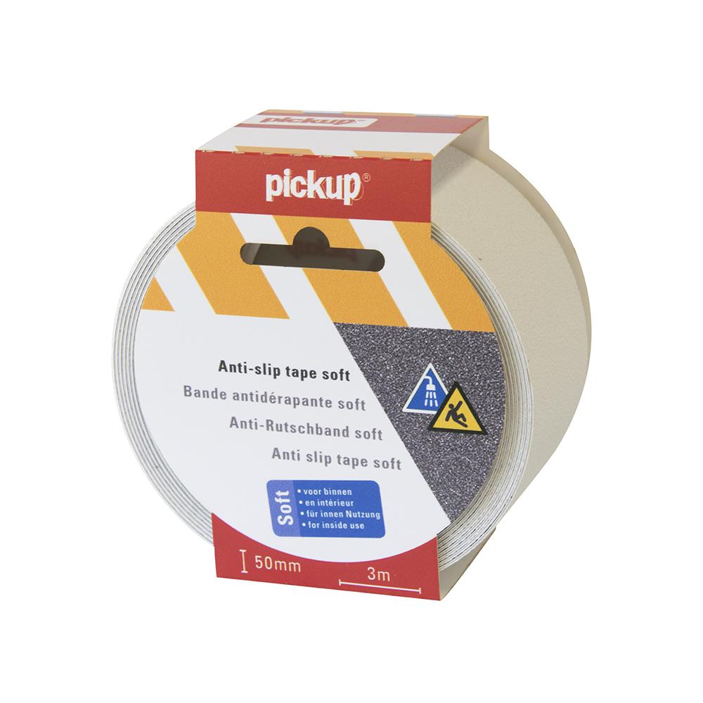 Antislip tape Soft wit - 3 mtr x 5 cm