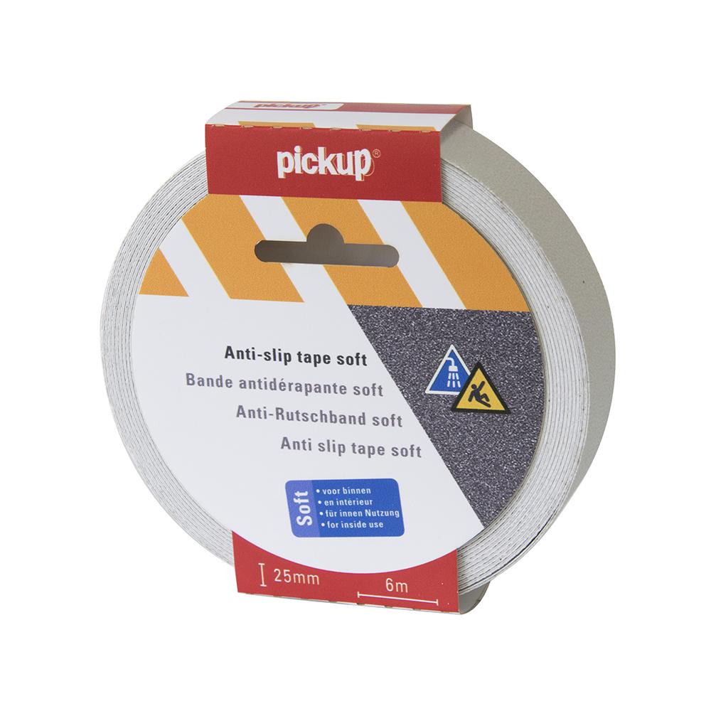 Antislip tape Soft wit - 6 mtr x 2,5 cm