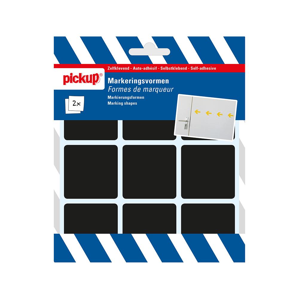 Markeringsvorm zwart - 45x45 mm