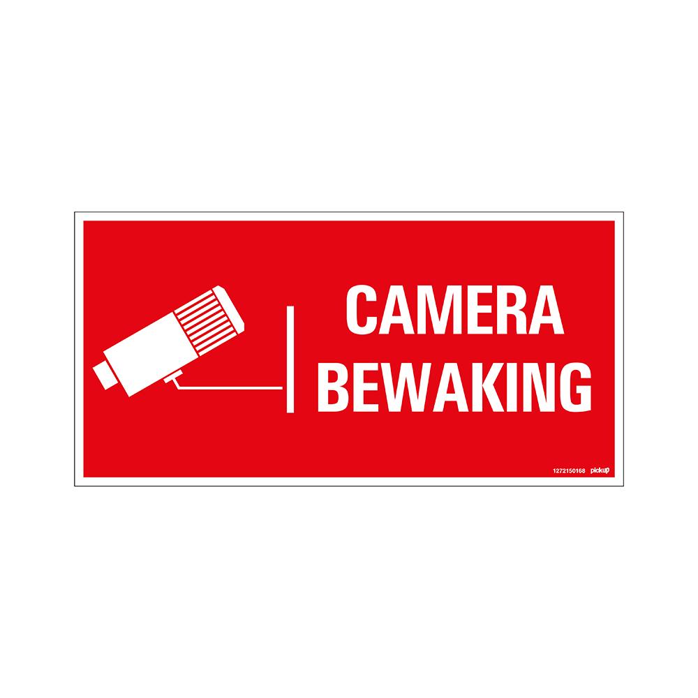 Bord 300x150 mm - Camerabewaking