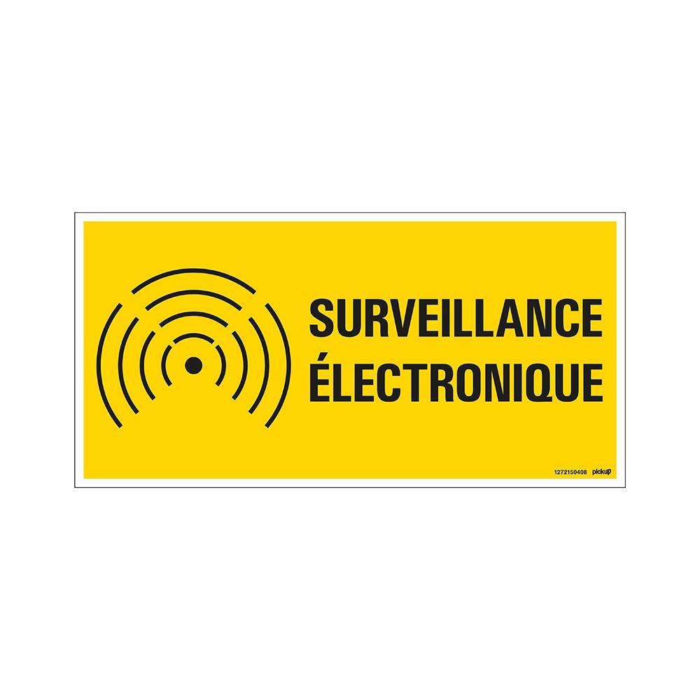 Bord 300x150 mm - Surveillance electronique