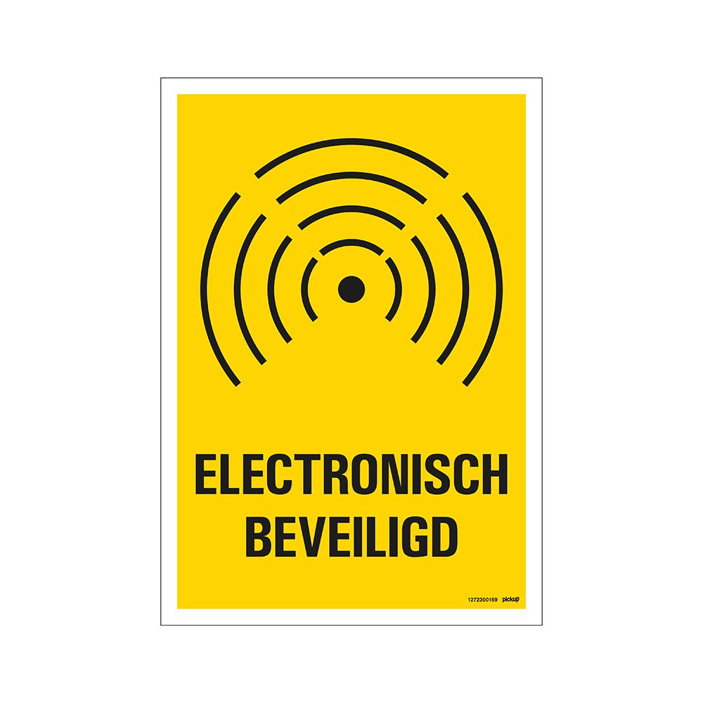 Bord 23x33cm Combinatie - Electronisch beveiligd -  alarm