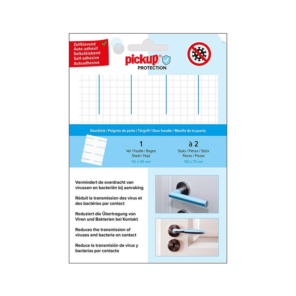 Pickup Protection Folie deurklink - 100x70 mm - 2 stuks - zelfklevend - sticker