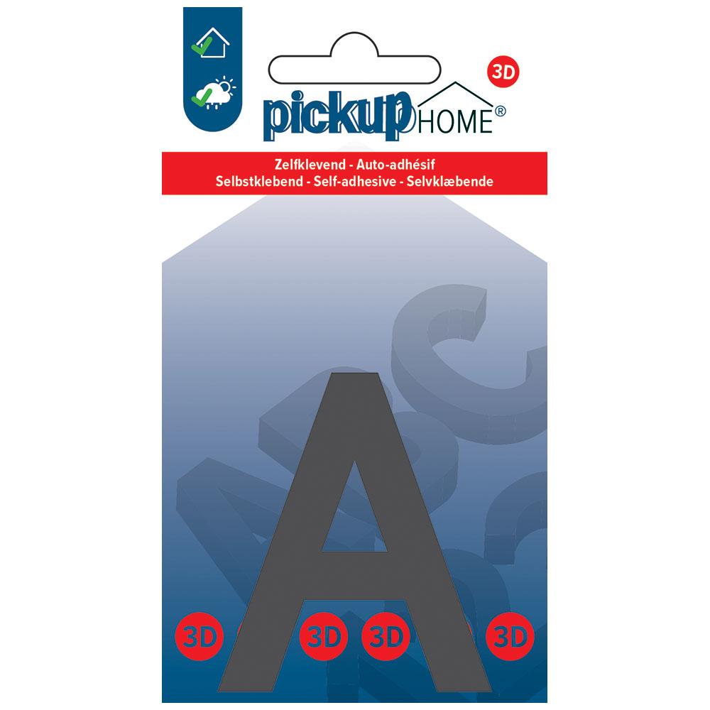 Pickup 3D Home Lima 60 mm grijs A - zelfklevend