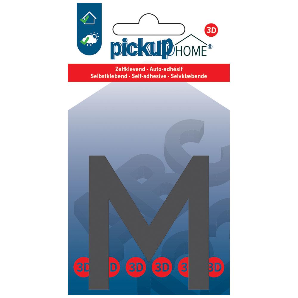 Pickup 3D Home Lima 60 mm grijs M - zelfklevend