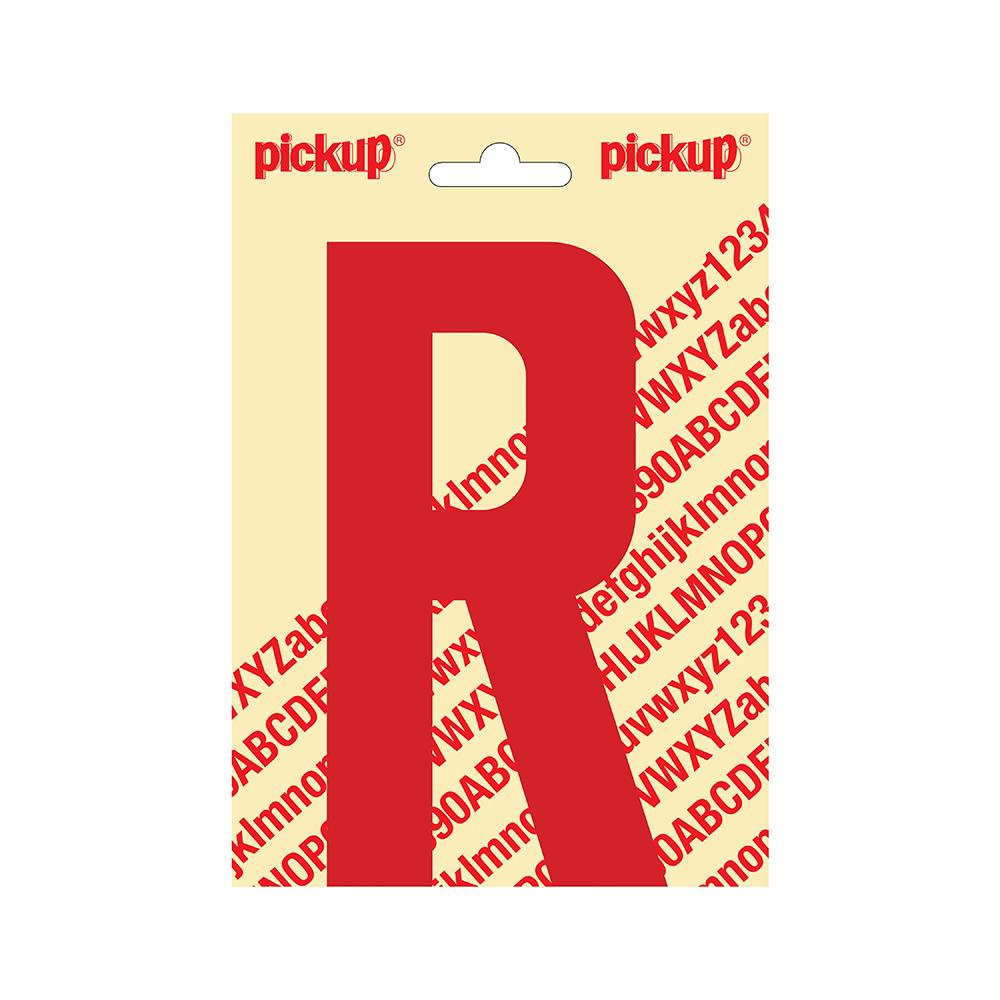 Plakletter Nobel 150mm rood R - 31022150R