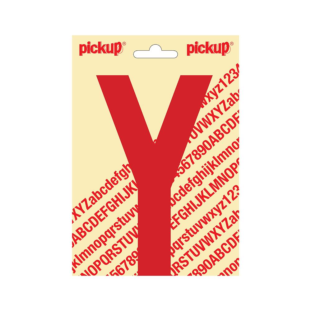 Pickup plakletter Nobel 150mm rood Y - 31022150Y