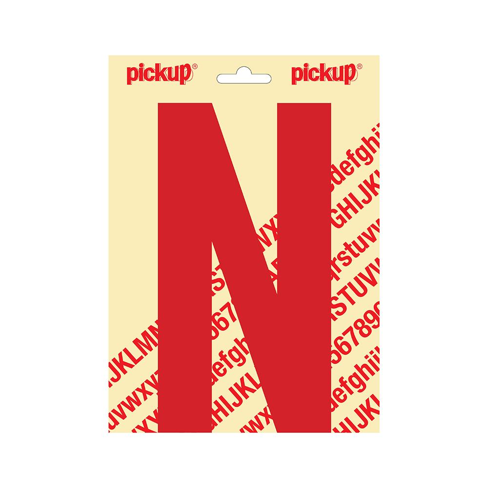 Pickup plakletter Nobel 200mm rood N - 31022200N