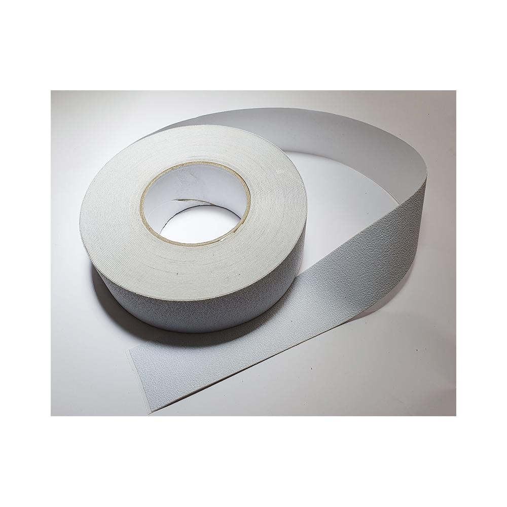 Antislip vloertape zelfklevend wit 50 mm breed - rol 18 meter  - uitlopend artikel nog 5 stuks beschikbaar