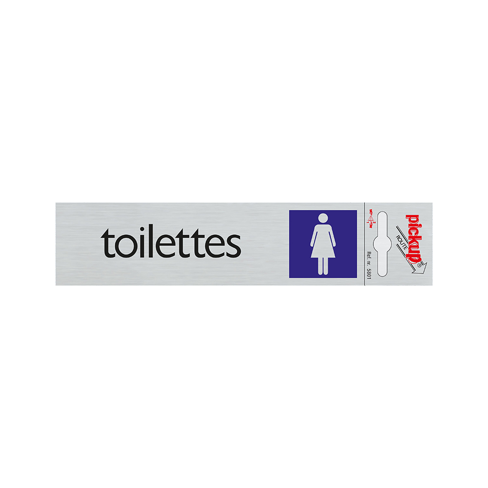 Route Alulook 165x44 mm - Toilettes dames