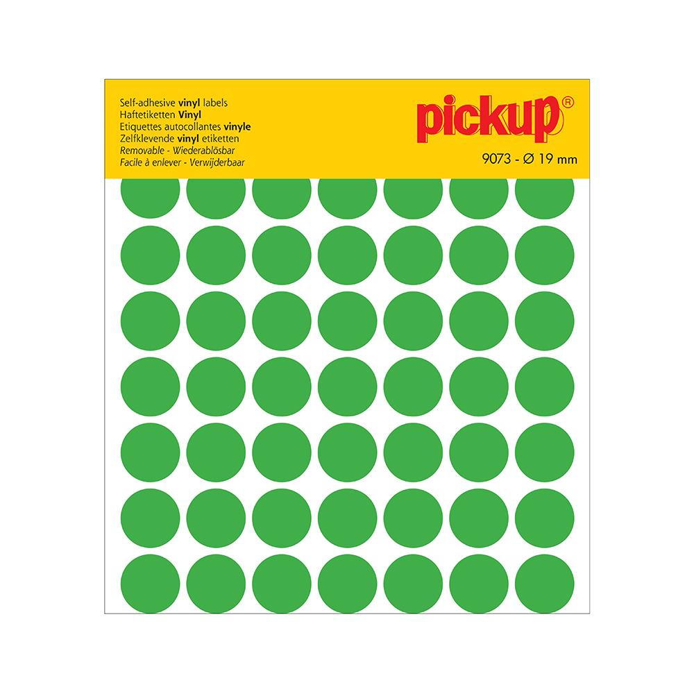 Stippen vinyl 19 mm groen - 9073