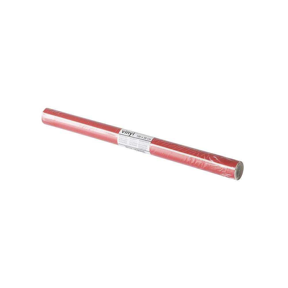 Vinylrol rood 30x100cm - 95694030