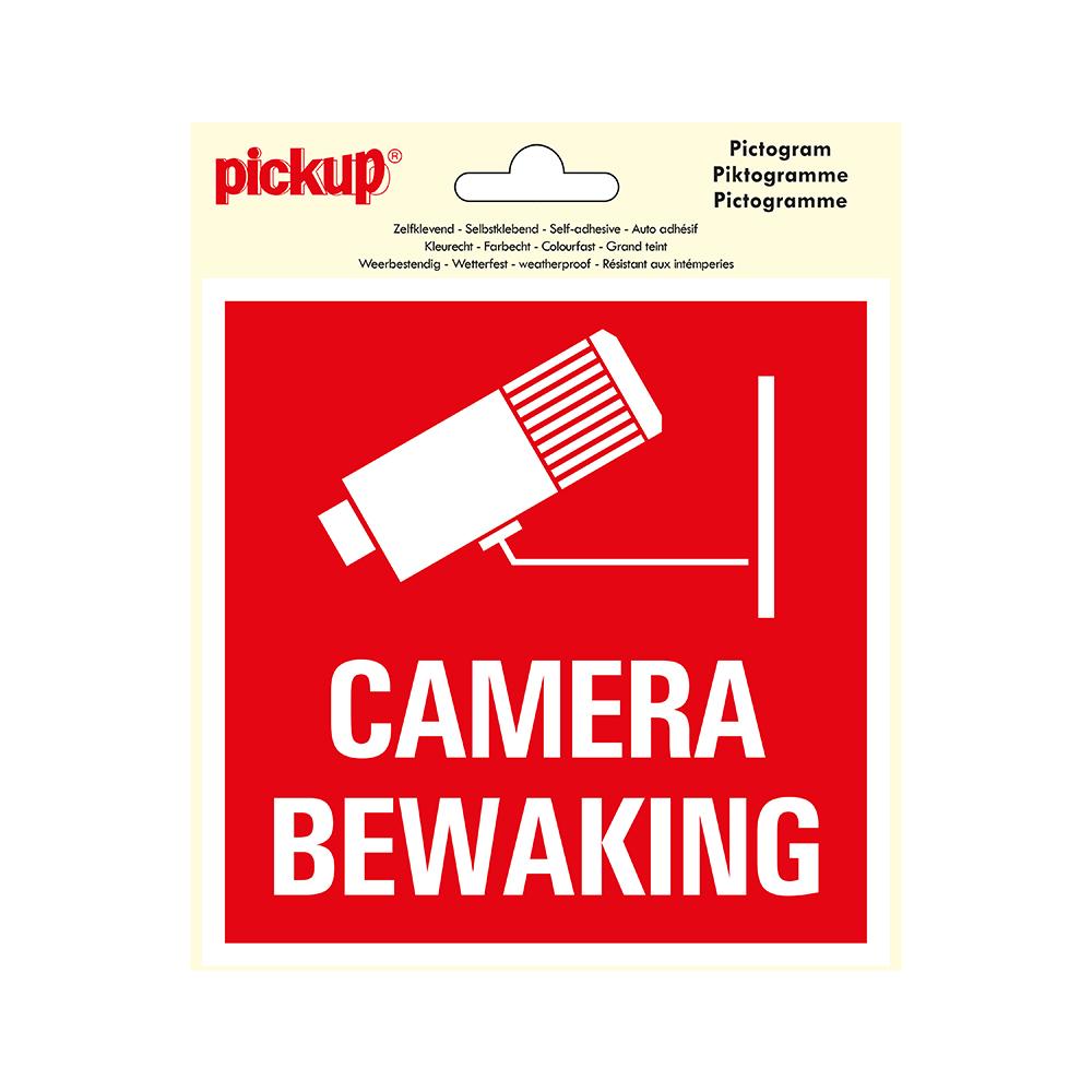 Pickup Pictogram 15x15 cm - Camerabewaking