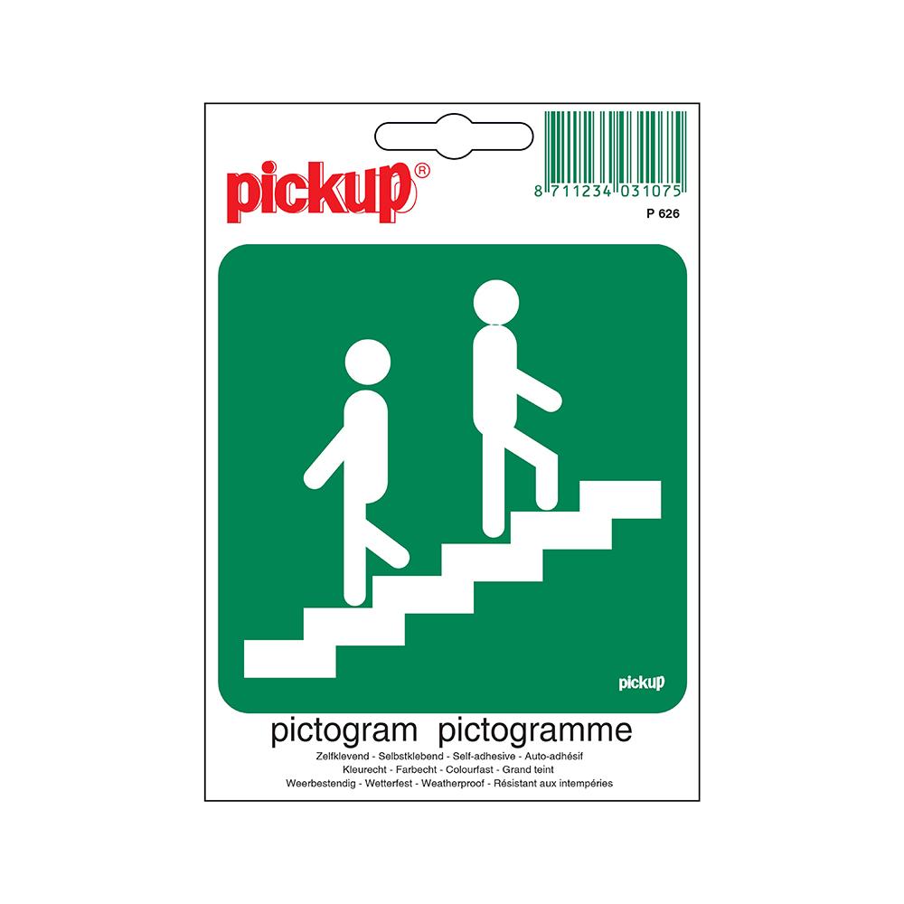 Pickup Pictogram 10x10 cm - Trappenhuis