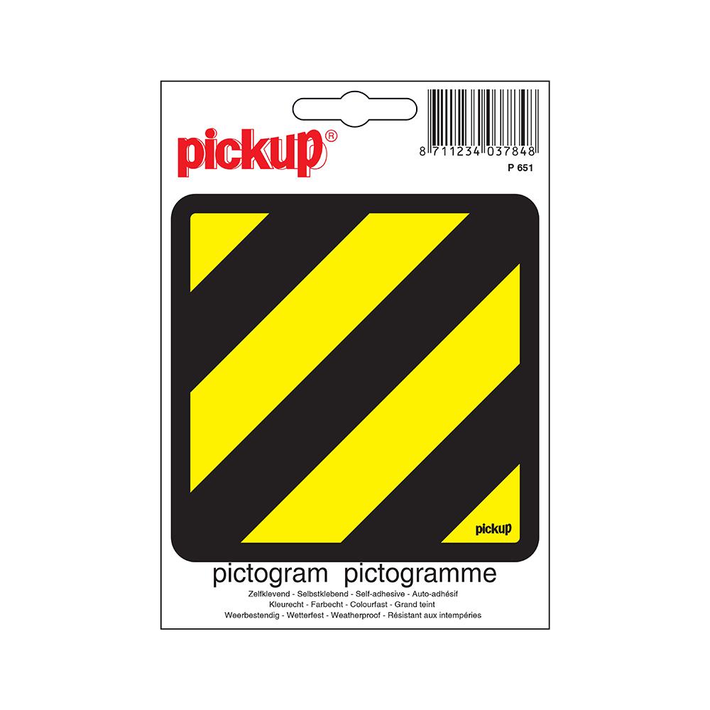 Pickup Pictogram 10x10 cm - Niet met water blussen