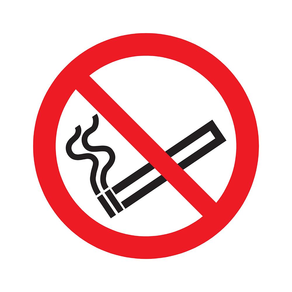 Pickup Pictogram rond diameter 20 cm - Verboden te roken